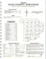 Index Map, Sauk County 1974